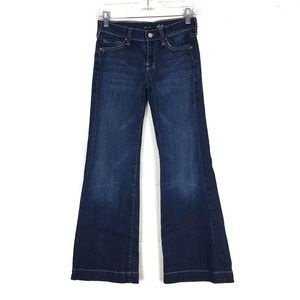 7 for all mankind dojo jean darkwash 25